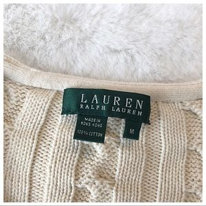 Ralph Lauren Sweaters - Ralph Lauren Cable Knit Sweater Med